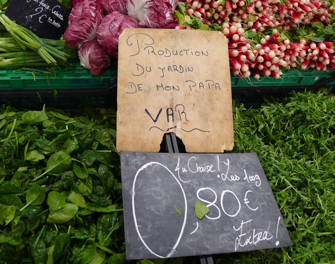 Auf dem Markt...